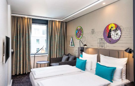 Single room (standard) Motel One Westbahnhof