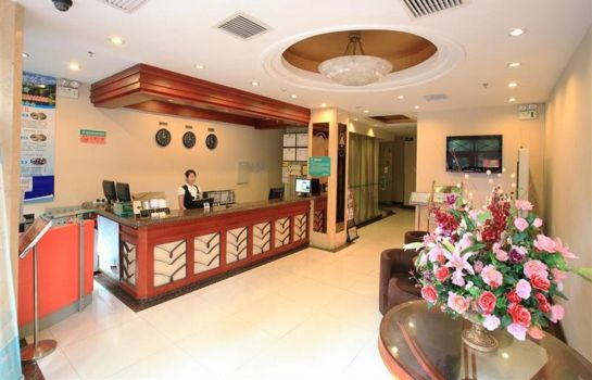 Empfang Green Tree Inn Dongming Road Subway Station Domestic only