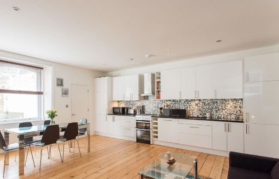 Keuken in de kamer Camden Apartments - Kings Cross Area