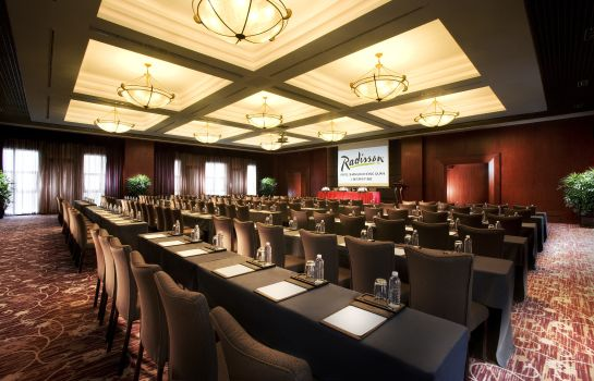 Conference room Radisson Blu Hotel Shanghai Hong Quan