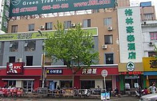 Vista exterior Green Tree Inn Renmin Middle Road Domestic only