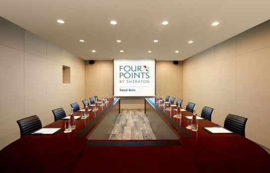 Conference room Four Points by Sheraton Seoul Guro Four Points by Sheraton Seoul Guro