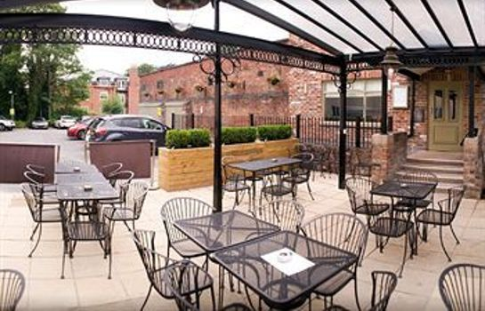 Terrasse The Wilmslow Lodge