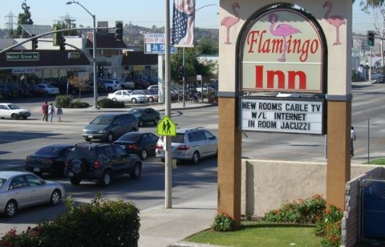 Exterior view FLAMINGO INN ROSEMEAD