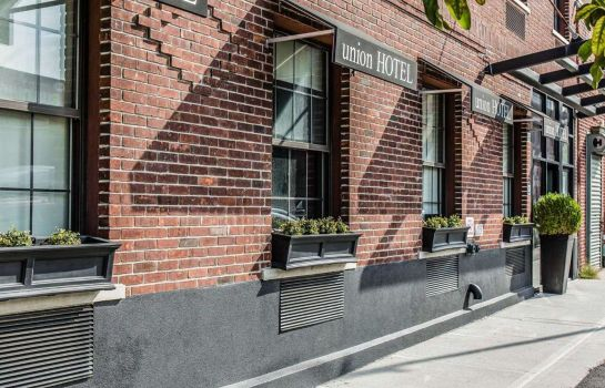 Exterior view Union Hotel Brooklyn
