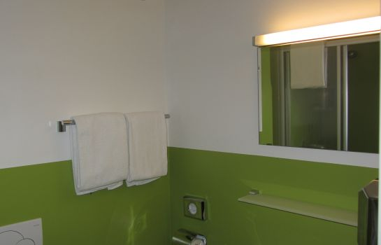 Bagno in camera Greenrooms
