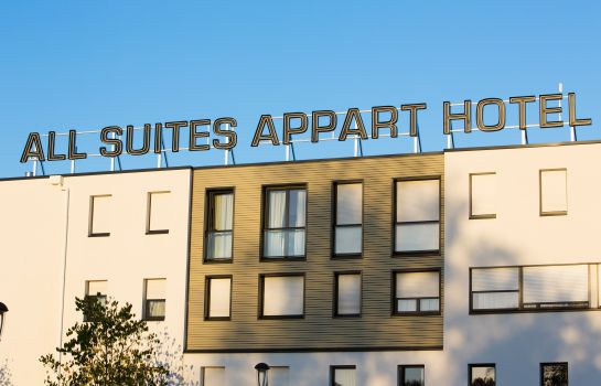 Exterior view All Suites Appart Hôtel Pau