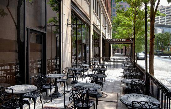 Restaurant Courtyard Atlanta Downtown