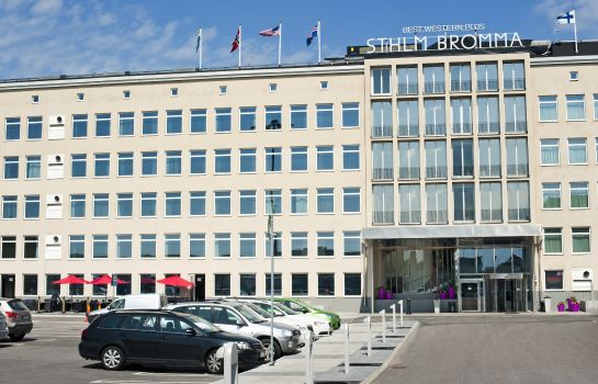 Exterior view Best Western Plus Sthlm Bromma
