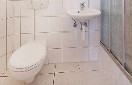 Badezimmer Flößerstube Pension