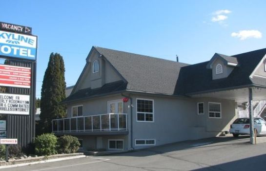 Exterior View Skyline Motel Kamloops