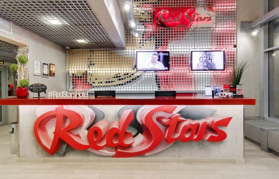 Réception Red Stars Hotel