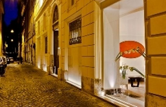 Vista esterna THE FIRST Luxury Art Hotel Roma