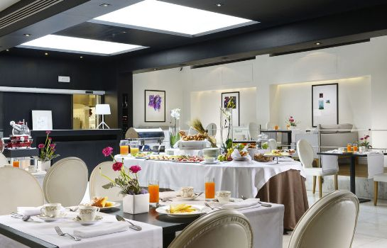Sala colazione THE FIRST Luxury Art Hotel Roma