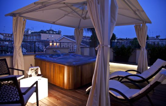 Terrazza THE FIRST Luxury Art Hotel Roma