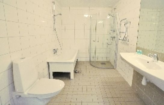 Bagno in camera Sky Hotel & Apartments