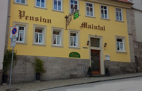Außenansicht Maintal Hotel-Pension
