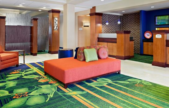 Hotelhalle Fairfield Inn & Suites Wichita Downtown