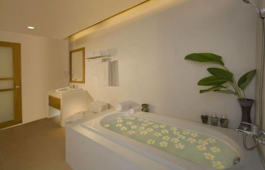 Bagno in camera Thai House Beach Resort