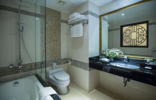 Badkamer Golden Lotus Boutique hotel