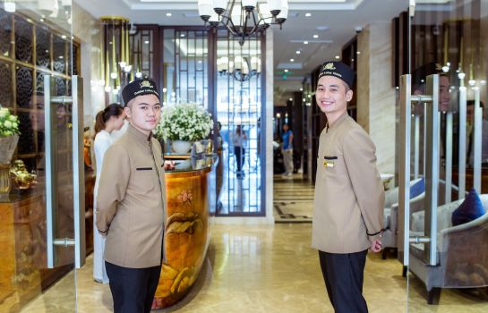 Receptie Golden Lotus Boutique hotel