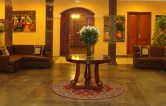 Lobby Boutique Hotel Plaza Sucre