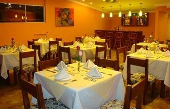 Restaurant Boutique Hotel Plaza Sucre