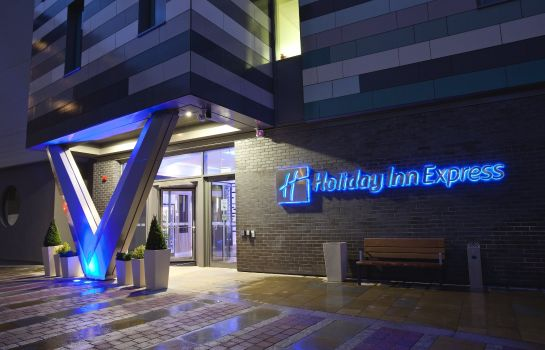 Hotelhalle Holiday Inn Express MANCHESTER CITY CENTRE - ARENA