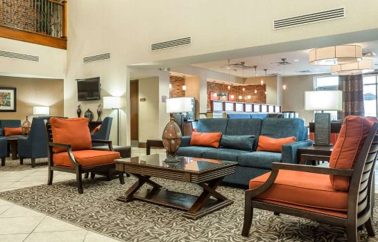 Vestíbulo del hotel Comfort Suites West of the Ashley