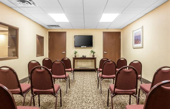 Conference room COMFORT SUITES WEST OF THE ASHLEY COMFORT SUITES WEST OF THE ASHLEY