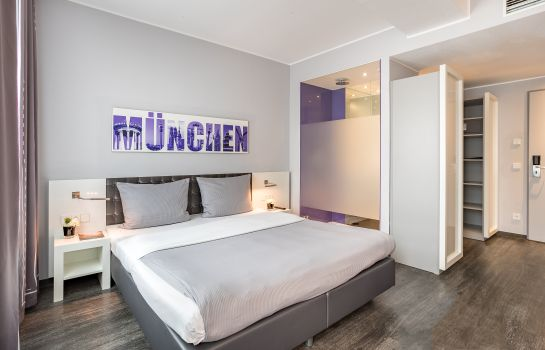 Double room (standard) Rilano 24/7 Hotel München City