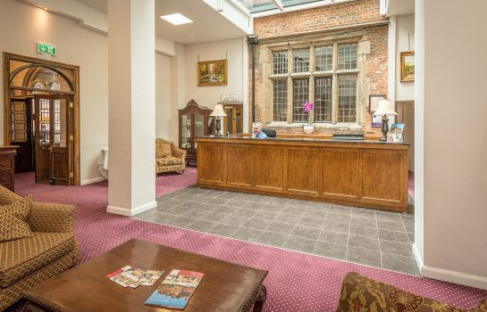 Hotelhalle Castle Bromwich Hall Sure Hotel Collection by Best Western