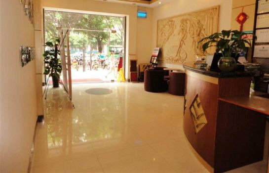 Vestíbulo del hotel Green Tree Inn East Wuyi Road Domestic only