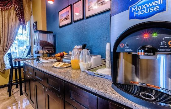 Sala colazione Travelodge Phoenix Downtown
