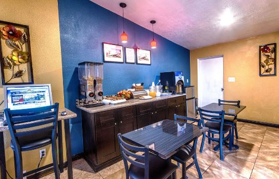 Sala de desayuno Travelodge Phoenix Downtown