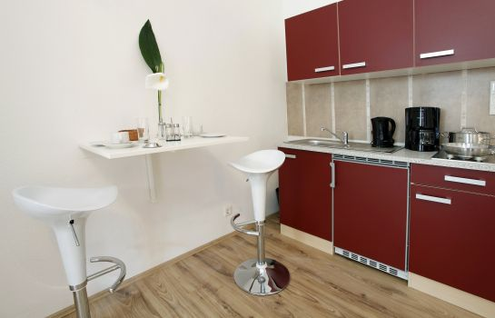Cucina in camera Hotel Design Apart