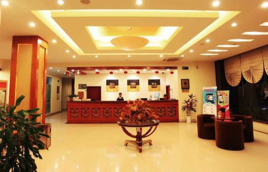 Empfang Green Tree Inn Taizhou MeilanEast Road Wanda Square Business Hotel Domestic only