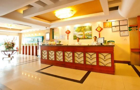 Reception GreenTree Inn Yinqiao Market(domestic guest only) Domestic only