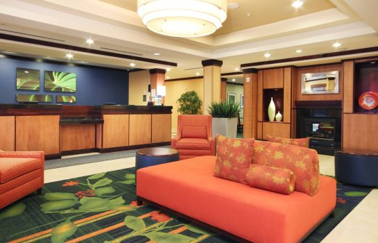 Lobby Fairfield Inn & Suites Mahwah