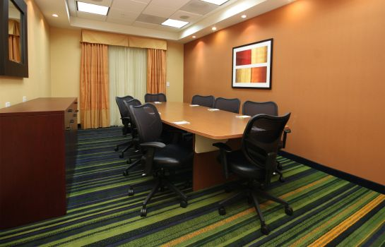 Conference room Fairfield Inn & Suites Mahwah
