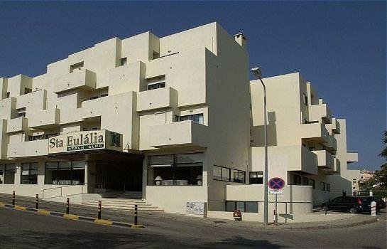 Exterior View Santa Eulalia Hotel Apartamento Spa