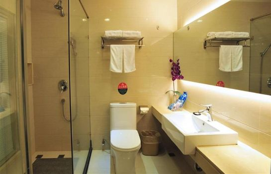 Badkamer Green Tree Inn Tianshan Road Domestic only