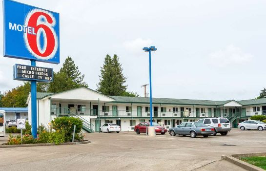 Vista exterior MOTEL 6 ALBANY OR