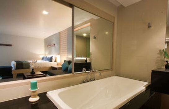 Cuarto de baño The ASHLEE Heights Patong Hotel & Suites