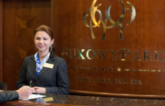 Reception Bukowy Park Medical SPA