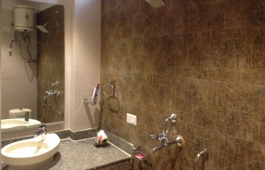 Bagno in camera Hotel Metro Tower