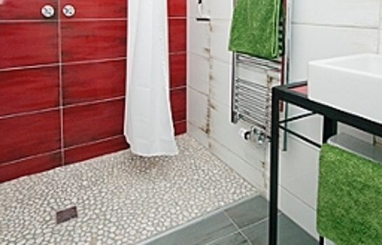 Bagno in camera Onkel Ernst Pension