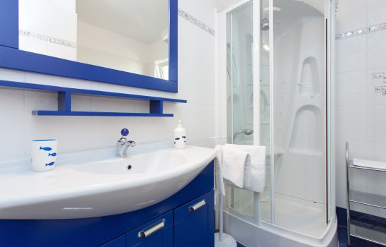 Bagno in camera Apartments Laura