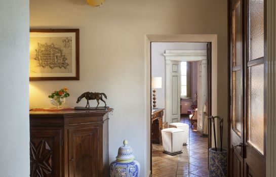 Hall de l'hôtel Borgo Ramezzana Country House