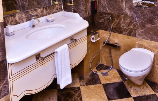 Bagno in camera The Lake Palace Hotel Baku